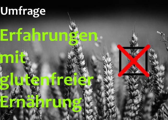 Umfrage zu getreide- und glutenfreier Ernährung